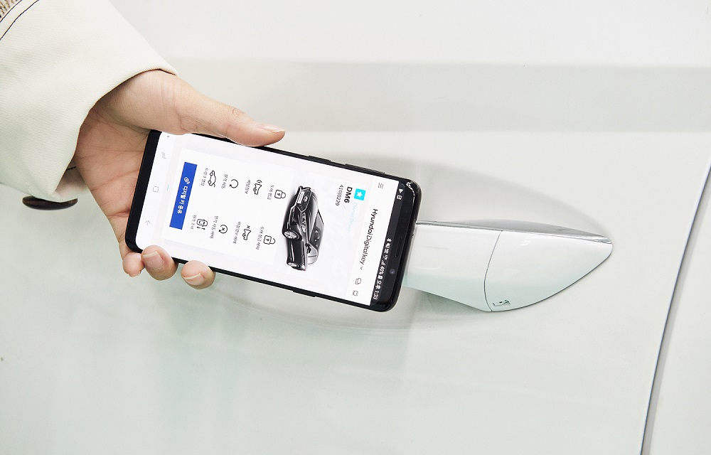 Hyundai phát triển chìa khóa kỹ thuật số cho ô tô