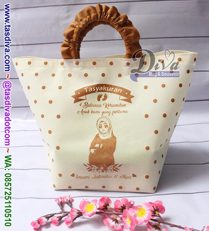 Tas Tasyakuran 4 Bulanan Customdiva Bag Souvenir