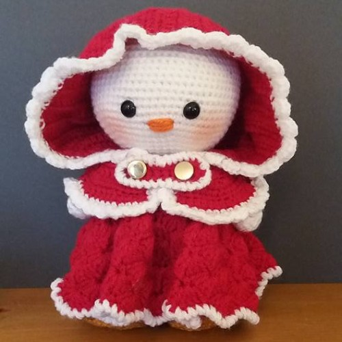 Weebee Doll (Dress Me Up Snowman) - Free Pattern