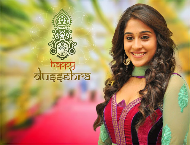 Regina cassandra wishing Happy Dasara photos