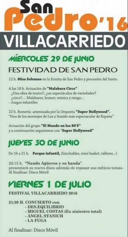 FIestas de San Pedro en Villacarriedo 2016