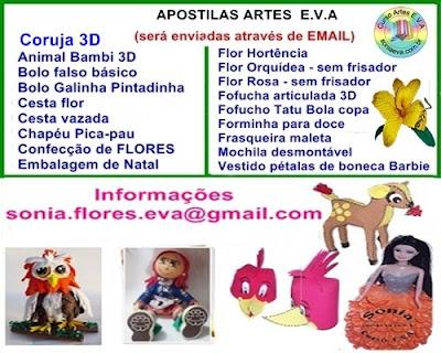 Apostilas artesanato E.V.A
