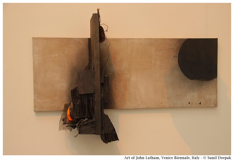 Art of John Latham at Venice Biennale, Italy - Images by Sunil Deepak
