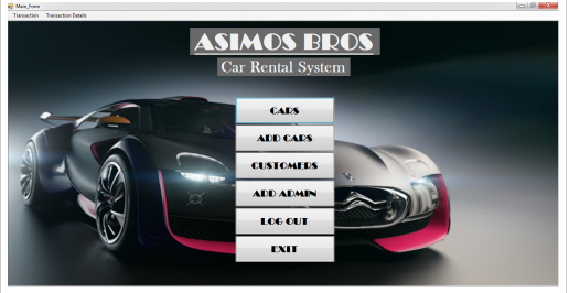 Free Download Source Code Simple Car Rental System using For Visual Basic.net No Lisensi