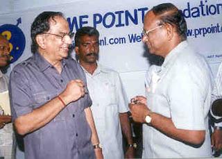 T S Krishna murthy and T S Raghavan