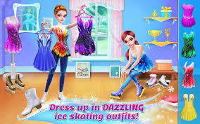 Game Ice Skating Ballerina Apk