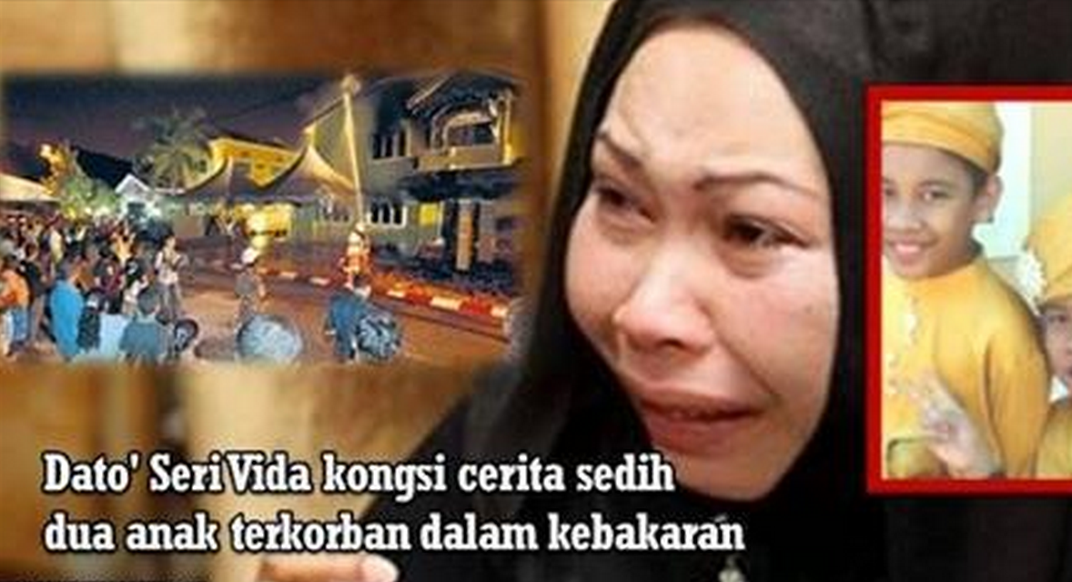 Dato56 Dato Kelenjeridze: PILU !!! Dato Seri Vida Kongsi Kisah Sedih Dua Anaknya