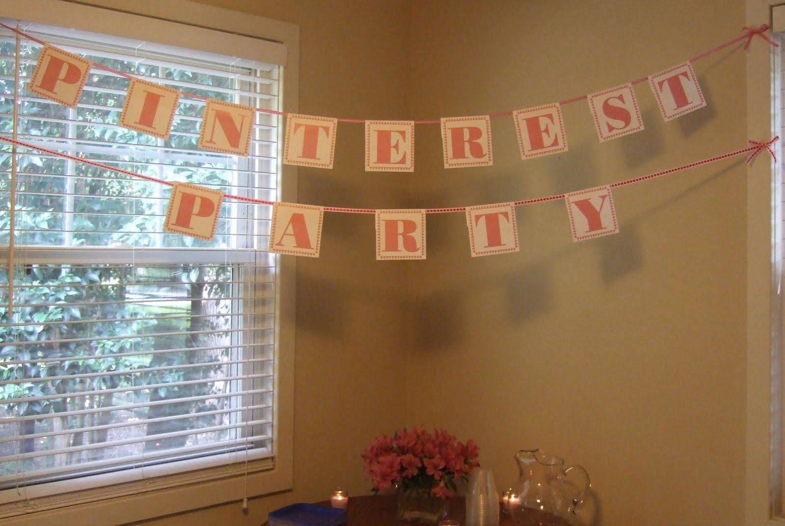 Pinterest Party!