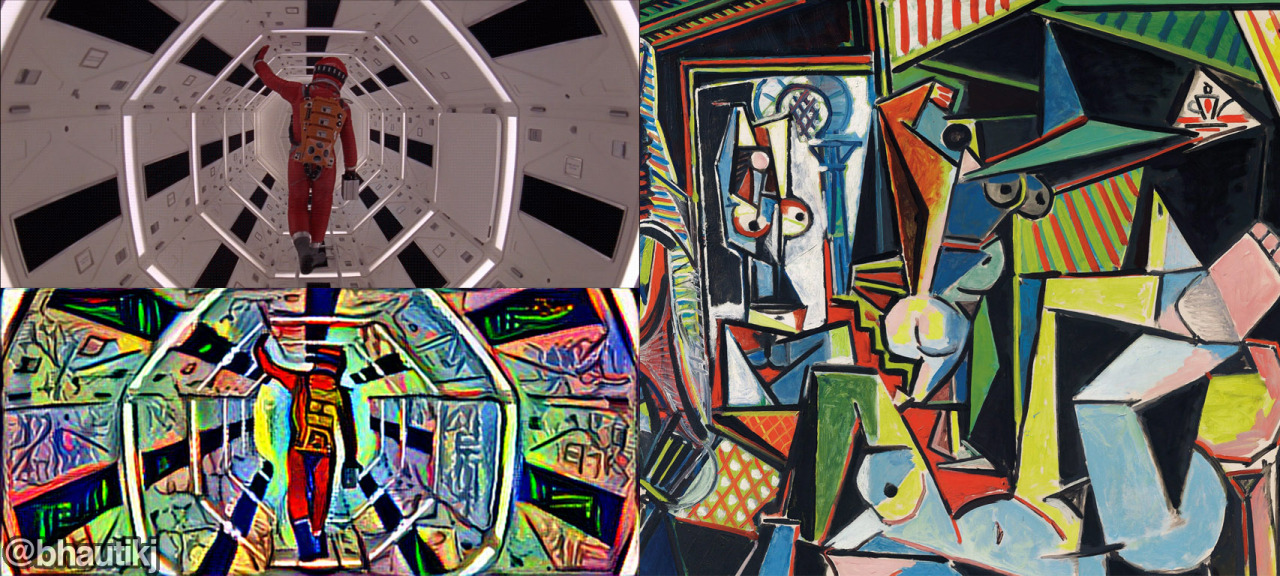Neural Network Used To Reimagine 2001: A Space Odyssey Through the Eyes of Pablo Picasso