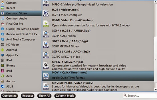 Add Canon XC10 XF-AVC 4K MXF to VLC, WMP, Playback Pro-1080p