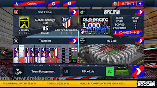 Download DLS 18 Mod Atletico Madrid by Alif