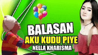 Lirik Lagu Balasan Aku Kudu Piye - Nella Kharisma