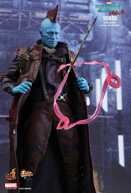osw.zone Hot Toys MMS436 Guardian of the Galaxy Vol.2 1 / 6th Yondu Collector (Deluxe Version)