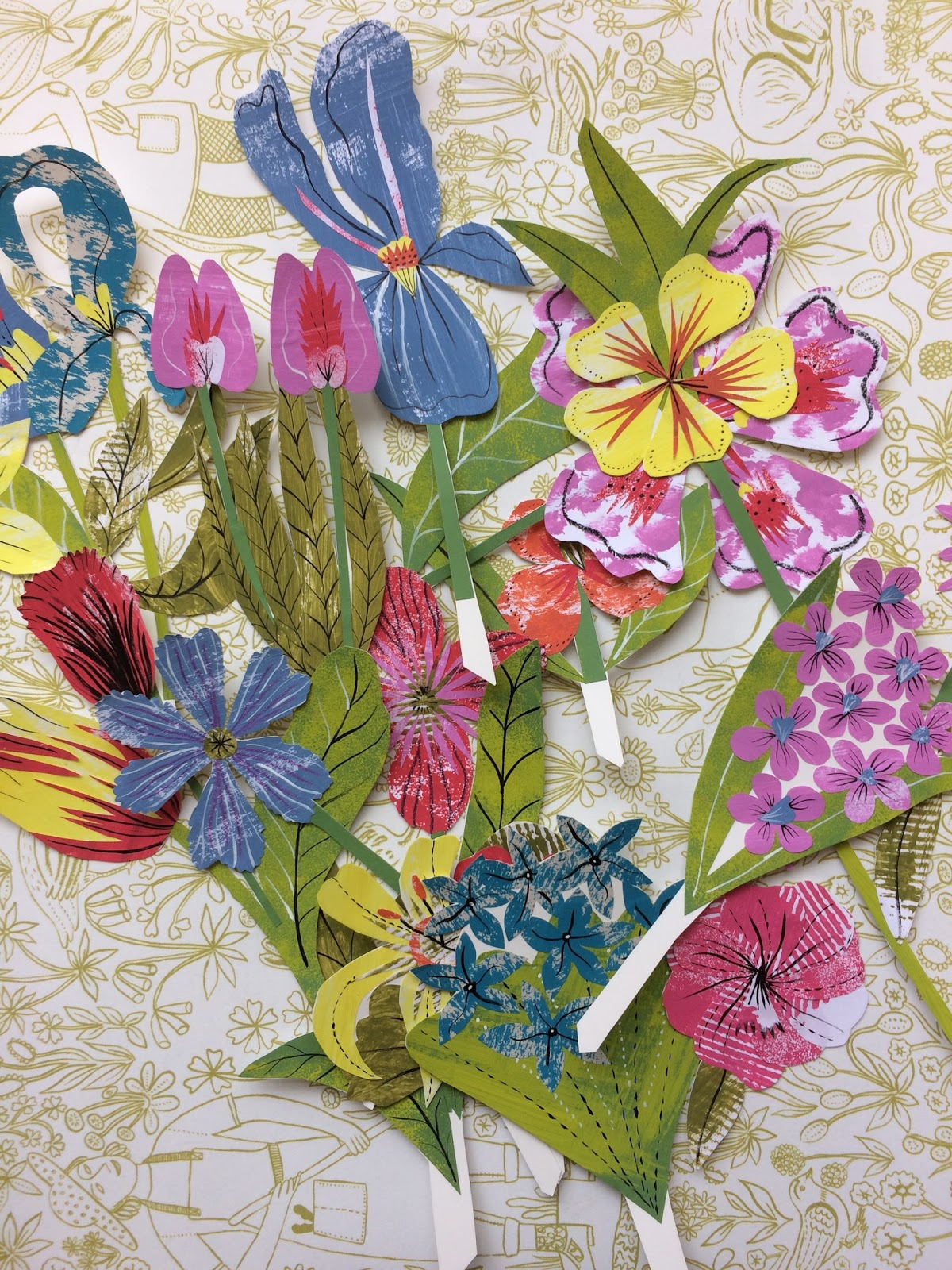 Alice pattullo paper flower arranging workshop yorkshire just a heads up that i will be running a paper flower arranging workshop at yorkshire sculpture park on the 16th spetember to coincide with the closing mightylinksfo