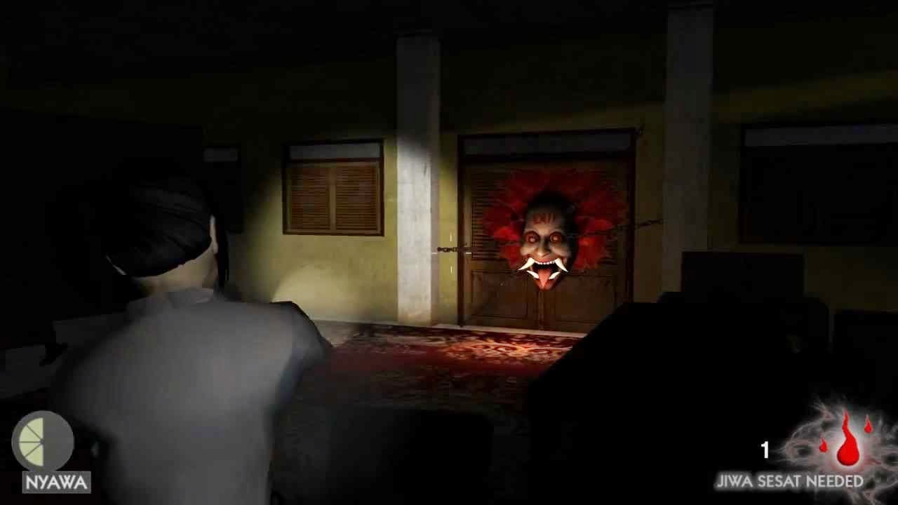 jurig escape, game horror, game indonesia