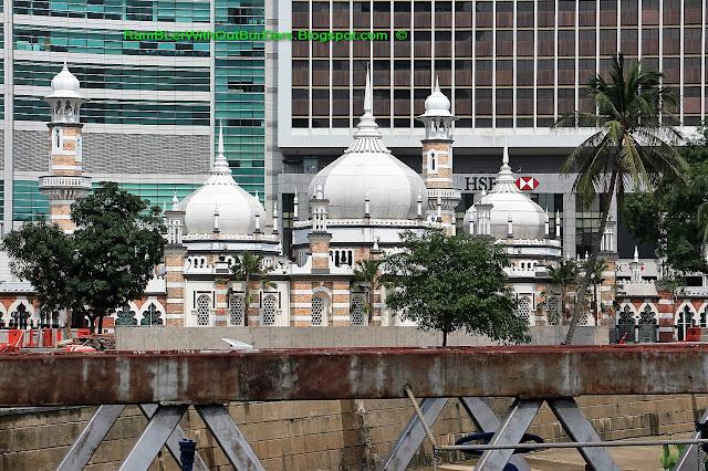 Jamek Mosque, KL Historic City Centre, KL, Malaysia