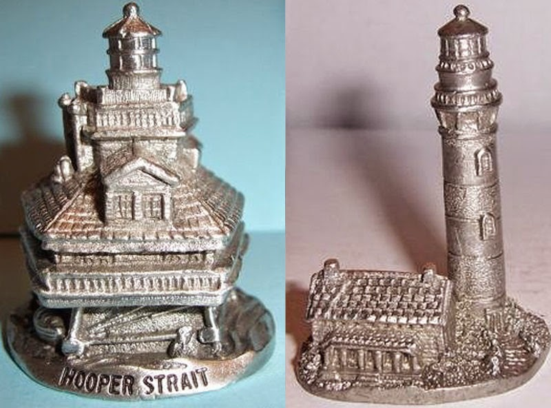 Building Collector: Spoontiques Pewter Lighthouses