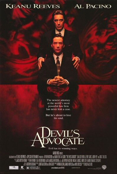 the portrayal of lucifer in the movies end of days and devils advocate Gustave doré's portrayal of dante's satan in  a musical play based on the devil's advocate opened on west end theatre in 2014  satan in the movies the .