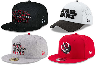 Star Wars: The Last Jedi Hat Collection by New Era Cap