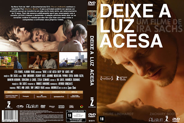 Capa DVD Deixe A Luz Acesa
