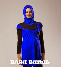Desain Baju Muslim Untuk Ibu Hamil bumil