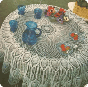 Tapete Redondo a Crochet