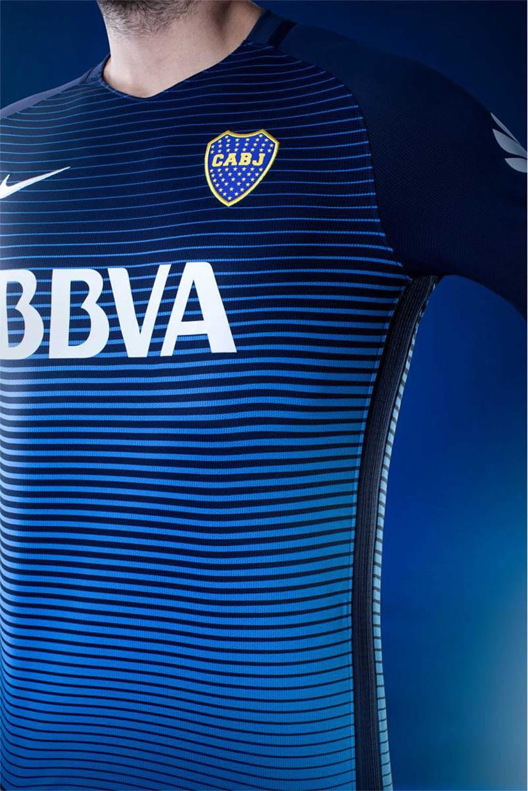 2017506c79b42 Boca presentó su nueva camiseta alternativa para el 2017 - Notimix