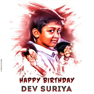 Happy Birthday Dev Suriya