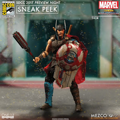 osw.zone Mezco Toyz One: 12 Collective SDCC 2017 Preview images of coming figures