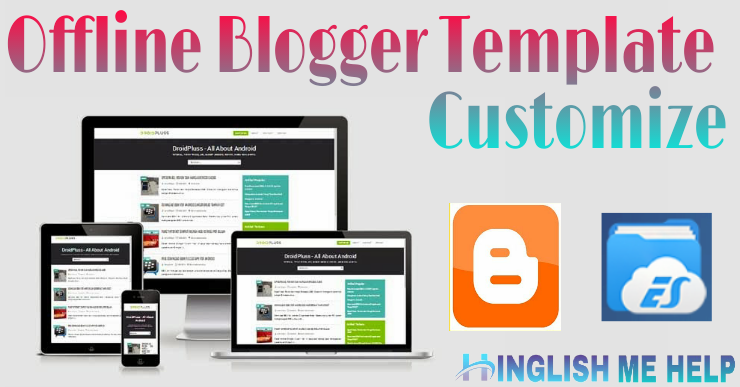 Blogger theme customize