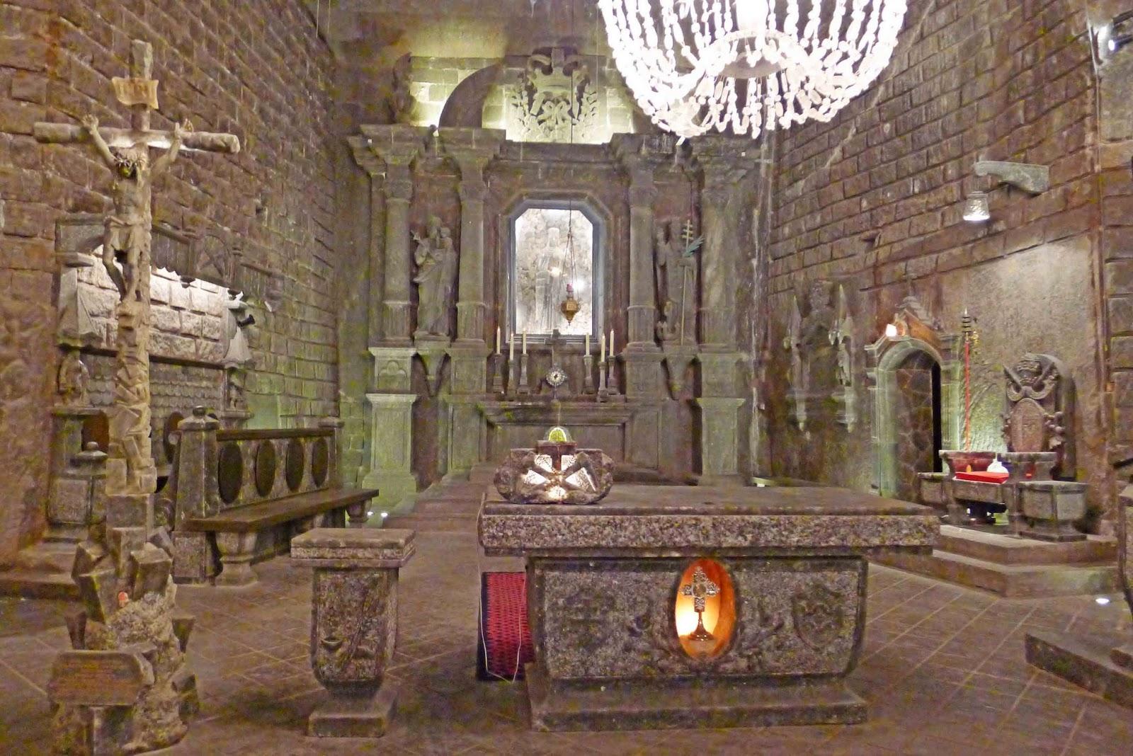Wieliczka Salt Mine Altar