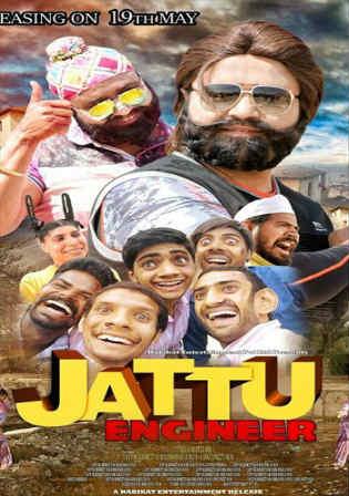 Jattu Engineer 2017 DVDRip 900MB Hindi Movie 720p Watch Online Full Movie Download bolly4u