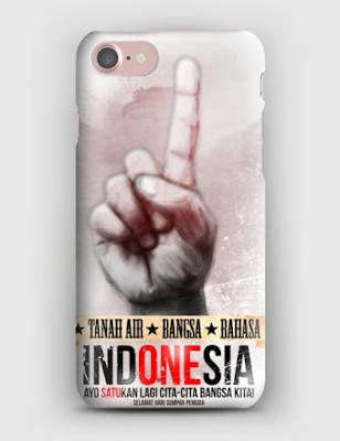 CUSTOM CASE 3D FOR IPHONE 5 / IPHONE 5 Edisi Sumpah Pemuda