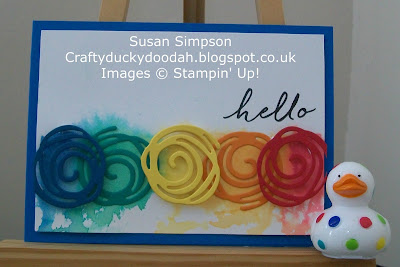 Stampin' Up! UK Independent Demonstrator Susan Simpson, Craftyduckydoodah!,  Review of 2016 Part II, Swirly Bird, Supplies available 24/7,