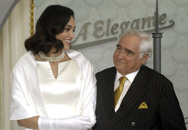 Filomena (Debora Nascimento) e Fragoso (Luis Gustavo)