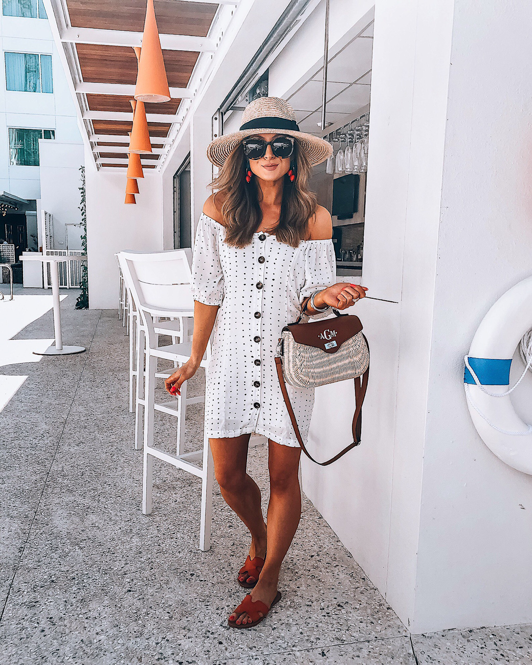 white emmer + oat dress