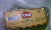 Daging Burger Yona - Beef Yona Burger