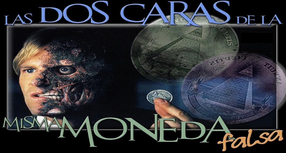 check out 43e86 fa1bb Las Dos Caras de la Misma Moneda ... Falsa