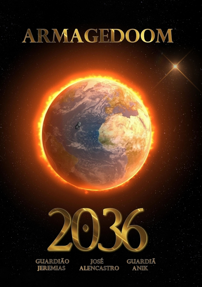 Livro Armagedoom 2036, armagedon, armageddon