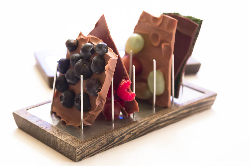 Chocolate Dessert Essigbrätlein Nuremberg's Two Michelin Star Restaurant