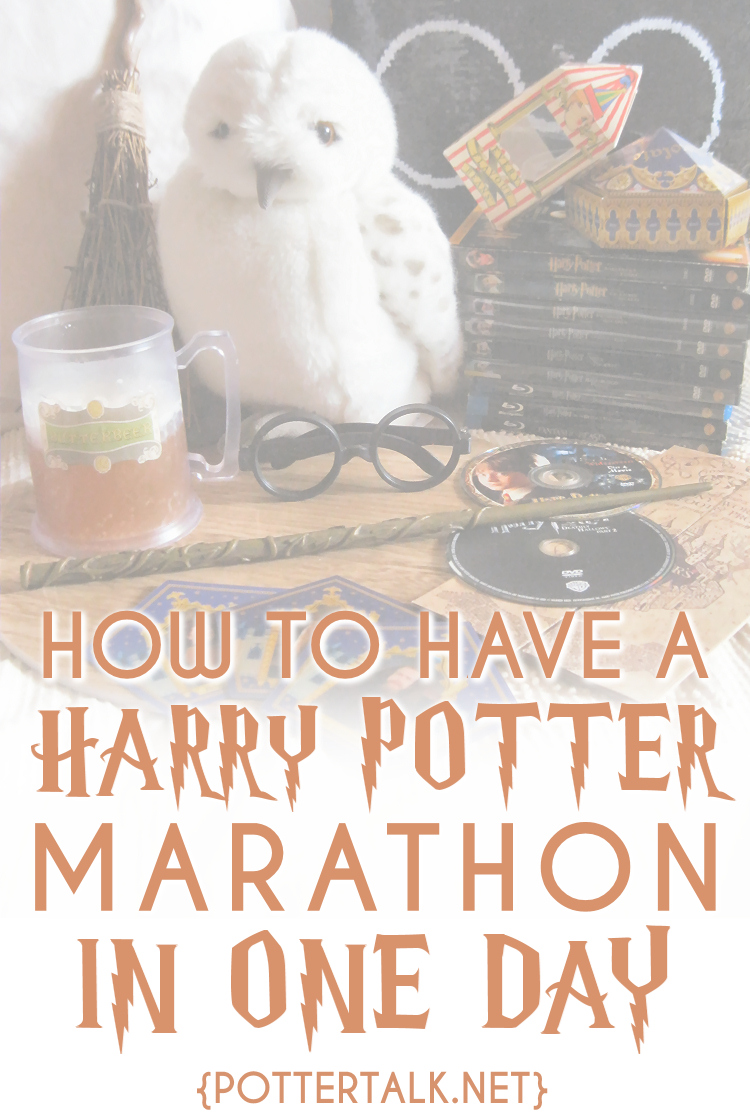 24 Hour Harry Potter Movie Marathon