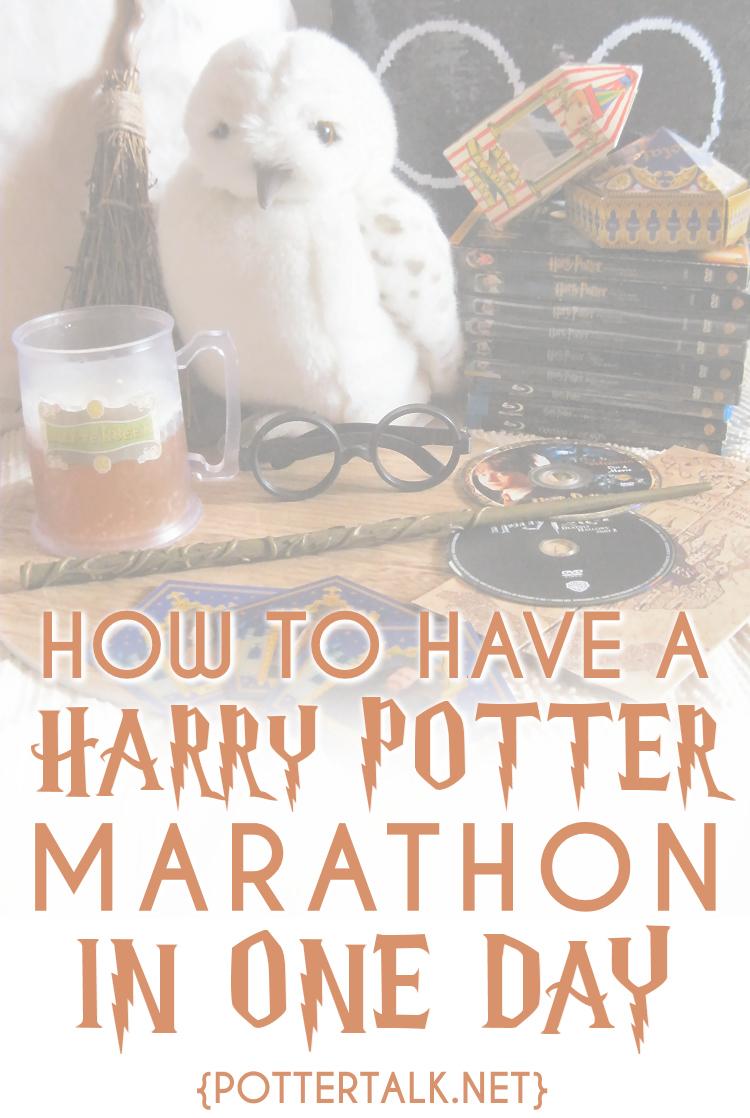 Potter Talk How To Take The 24 Hour Harry Potter Movie Marathon Challenge