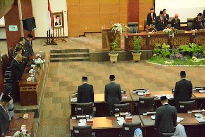 Dandim Brebes Hadiri Pidato Kenegaraan Presiden RI Pada Rapat Paripurna Istimewa DPRD Kabupaten Brebes