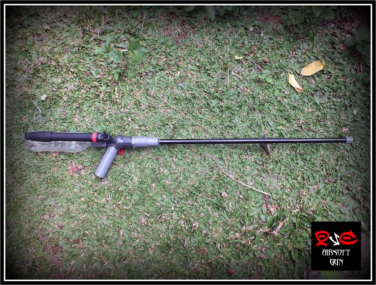 PVC Airsoft Gun | Membuat senapan mainan | Spring