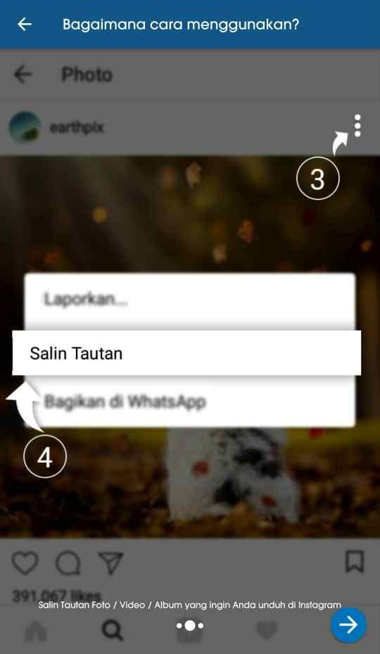 cara menyimpan foto dan video dari instagram ke galeri tanpa screenshot 3