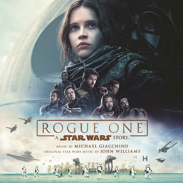 Cover of the Soundtrack to Rogue One: A Star Wars Story. Music by Michael Giacchino