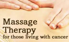 Massage Therapy Helps Cancer Patients
