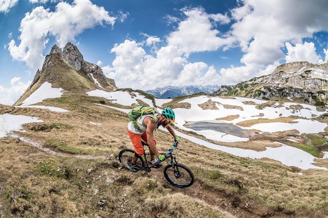 Sehr schwere Mountainbiketour am Achensee mtb