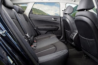 Kia Optima Sportswagon 3 (2017) Rear Seats