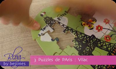 Vilac - Puzzles Tour Eiffel
